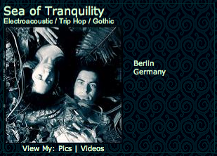 Sea of Tranquility's profile at MySpace - featuring bewitching and unweldy tracks from the album LANDED and never-released LOST TRACKS.