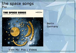 The Space Song's profile at MySpace.